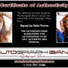 Bella Thorne proof of signing certificate