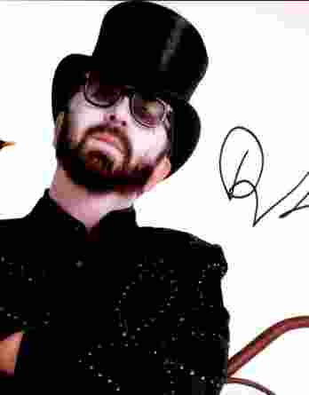 Dave Stewart authentic signed 8x10 picture