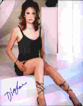 Diane Cane authentic signed 8x10 picture