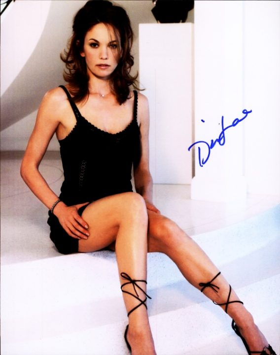 Diane Lane authentic signed 8x10 picture