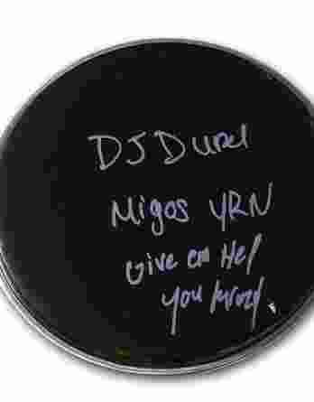 Migos DJ Dureal authentic signed 8x10 picture