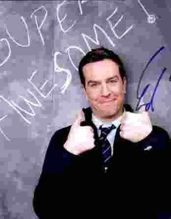 Ed Helms authentic signed 8x10 picture