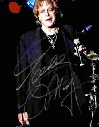Eddie Money authentic signed 8x10 picture