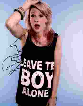 Ellie Goulding authentic signed 8x10 picture