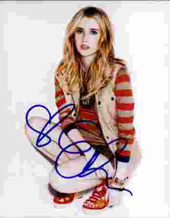 Emma Roberts authentic signed 8x10 picture