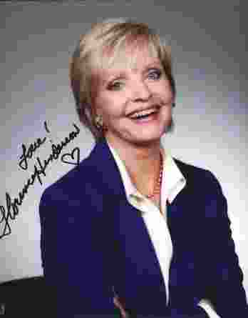 Florence Henderson authentic signed 8x10 picture