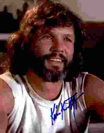 Kris Kristofferson authentic signed 8x10 picture