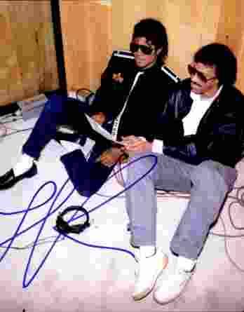 Lionel Richie authentic signed 8x10 picture