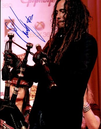 Munky authentic signed 8x10 picture