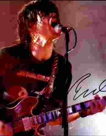 Ryan Adams authentic signed 8x10 picture