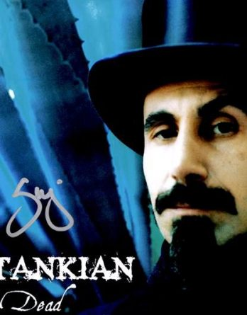 Serj Tankian authentic signed 8x10 picture