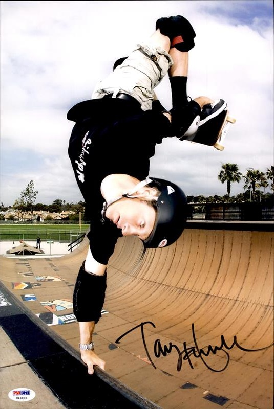 Tony Hawk authentic signed 8x10 picture