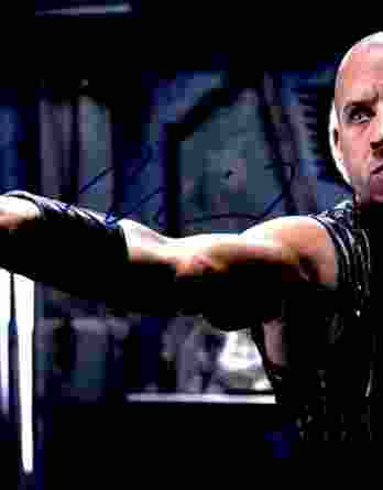 Vin Diesel authentic signed 8x10 picture