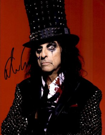 Alice Cooper authentic signed 8x10 picture