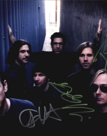 Bad Religion authentic signed 8x10 picture