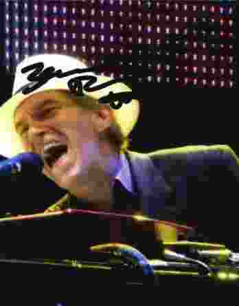 Benmont Tench authentic signed 8x10 picture