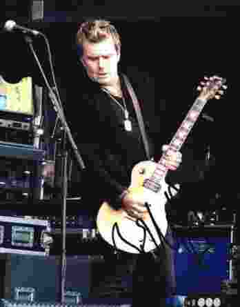 Billy Duffy authentic signed 8x10 picture