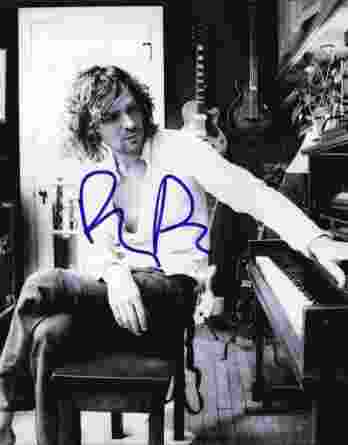 Brendan Benson authentic signed 8x10 picture