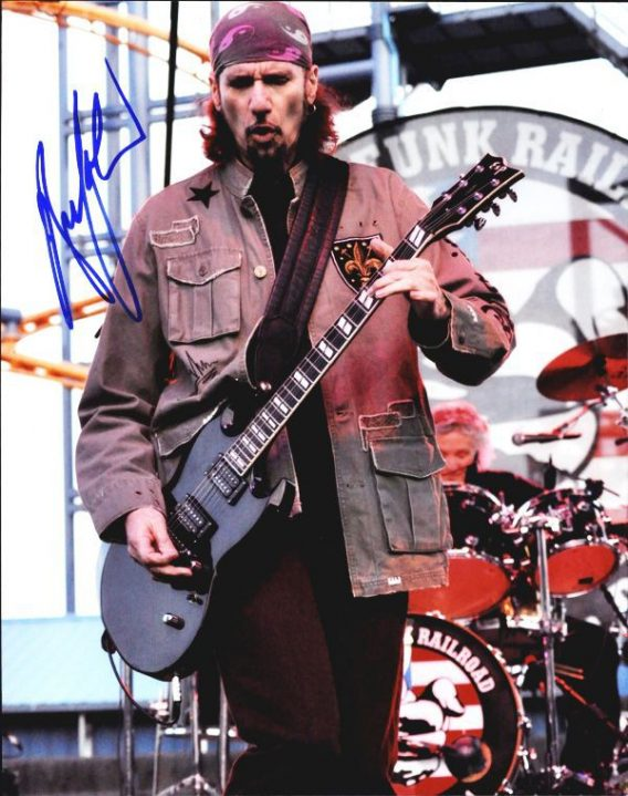 Bruce Kulick authentic signed 8x10 picture