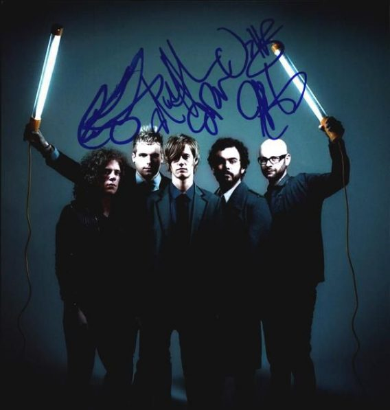 Cartel Band authentic signed 8x10 picture