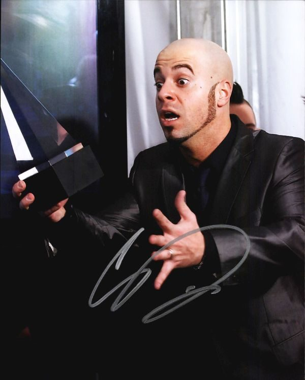 Chris Daughtry authentic signed 8x10 picture