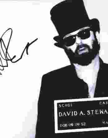 Dave A Stewart authentic signed 8x10 picture