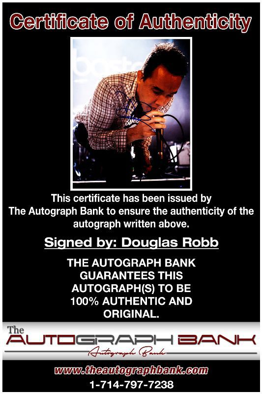 Douglas Robb proof of signing certificate