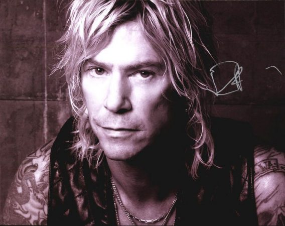 Duff McKagan authentic signed 8x10 picture