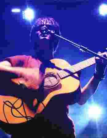 Jamie Cullum authentic signed 8x10 picture