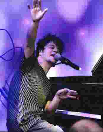 Jamie Cullum authentic signed 8x10 picture