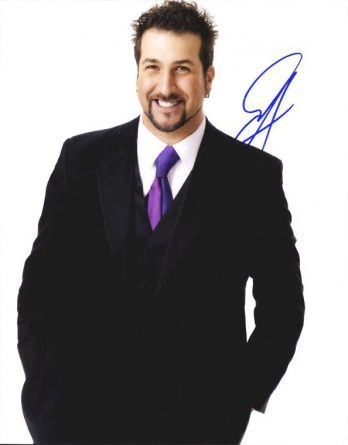 Joey Fatone authentic signed 8x10 picture