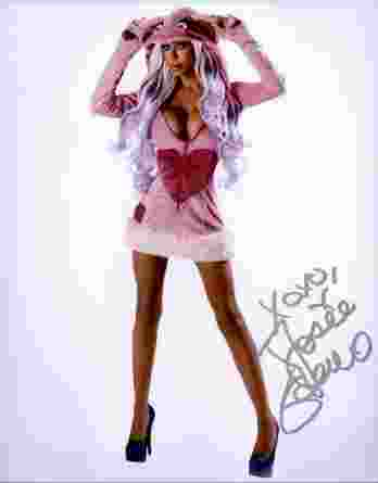 Josie Stevens authentic signed 8x10 picture
