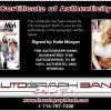 Katie Morgan proof of signing certificate