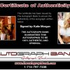Katie Morgan proof of signing certificate
