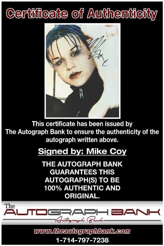 Mike Cox proof of signing certificate