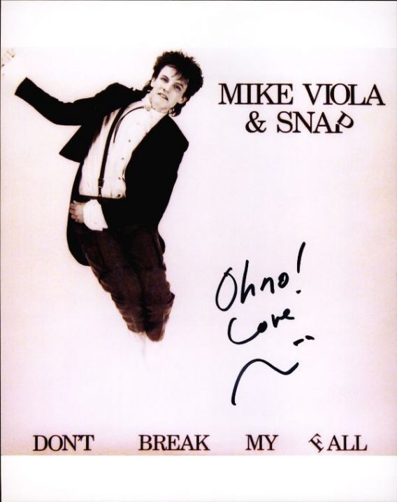 Mike Viola authentic signed 8x10 picture