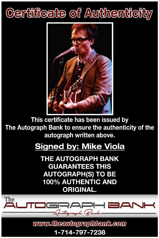 Mike Viola proof of signing certificate
