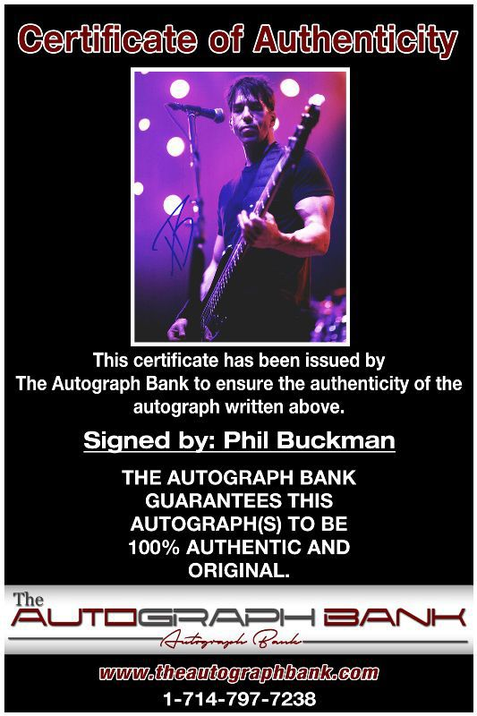 Phil Buckman proof of signing certificate