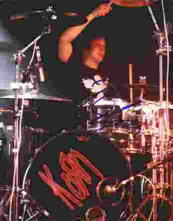 Ray Luzier authentic signed 8x10 picture