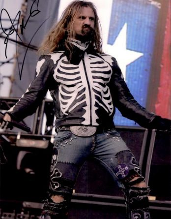 Rob Zombie authentic signed 8x10 picture