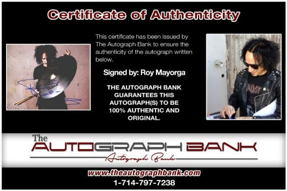 Roy Mayorga proof of signing certificate