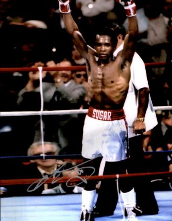 Sugar Ray authentic signed 8x10 picture