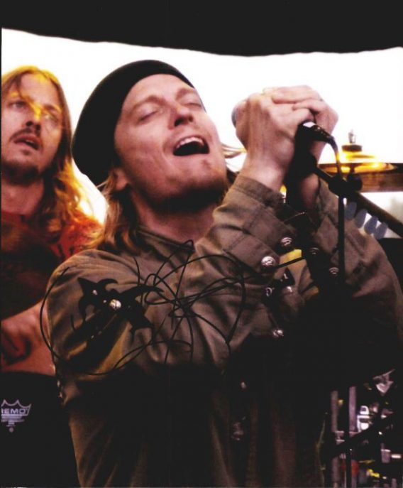 Wes Scantlin authentic signed 8x10 picture