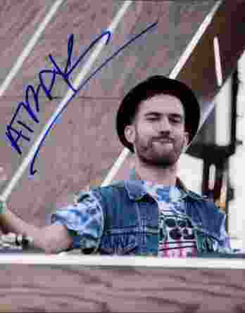 A-Trak authentic signed 8x10 picture