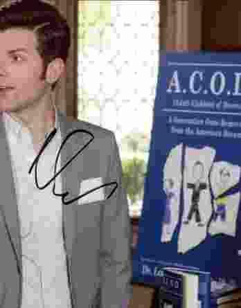 Adam Scott authentic signed 8x10 picture