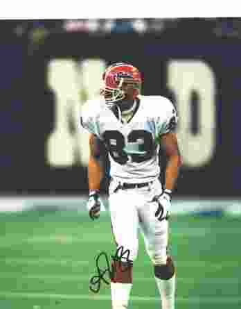 Andre Reed authentic signed 8x10 picture