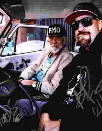 B-Real & Tommy Chong authentic signed 8x10 picture