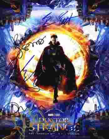 Benedict Cumberbatch, authentic signed 8x10 picture