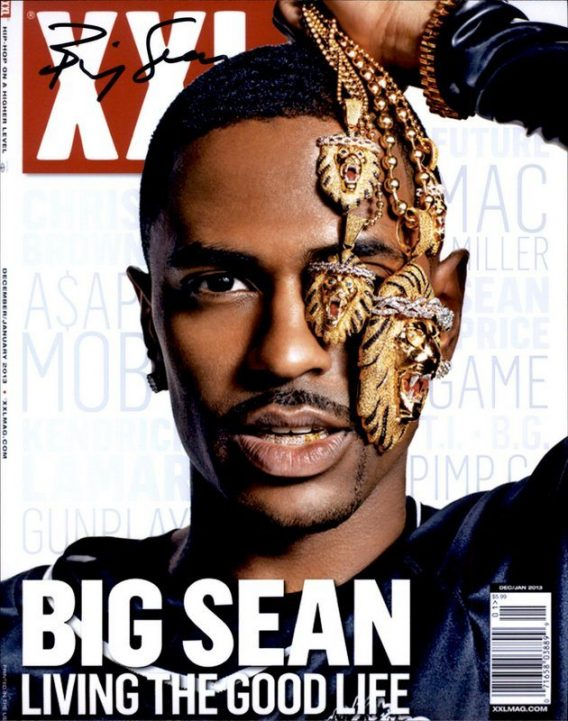 Big Sean authentic signed 8x10 picture