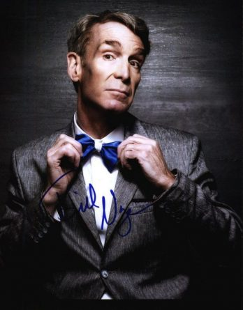 Bill Nye authentic signed 8x10 picture